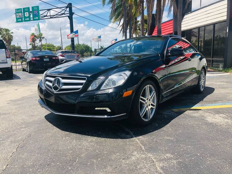 2010 Mercedes-Benz E-Class for sale at GTR MOTORS in Hollywood FL