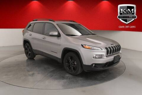2018 Jeep Cherokee for sale at K&M Wayland Chrysler  Dodge Jeep Ram in Wayland MI