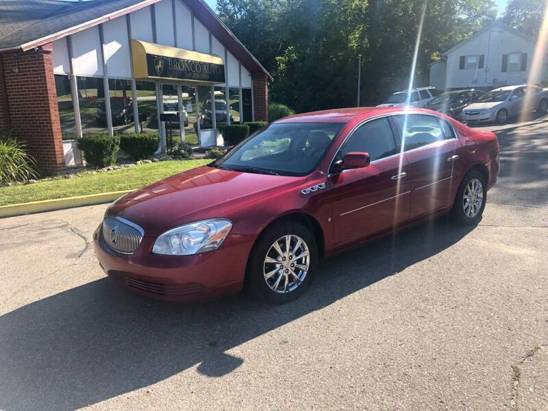 2009 Buick Lucerne for sale at Bronco Auto in Kalamazoo MI