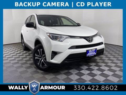 2017 Toyota RAV4 for sale at Wally Armour Chrysler Dodge Jeep Ram in Alliance OH
