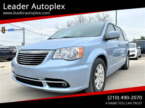 2013 Chrysler Town and Country for sale at Leader Autoplex in San Antonio TX