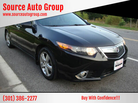 2011 Acura TSX for sale at Source Auto Group in Lanham MD
