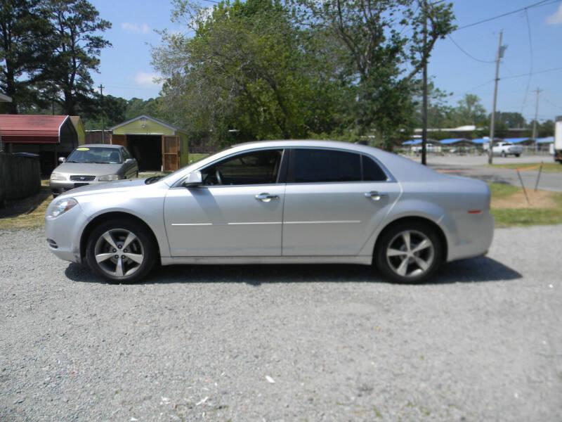 2012 Chevrolet Malibu for sale at SeaCrest Sales, LLC in Elizabeth City NC