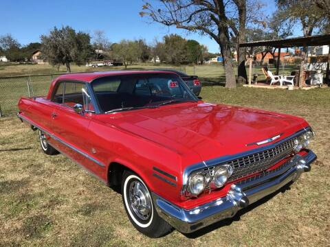 1963 Chevrolet Impala for sale at Mafia Motors in Boerne TX