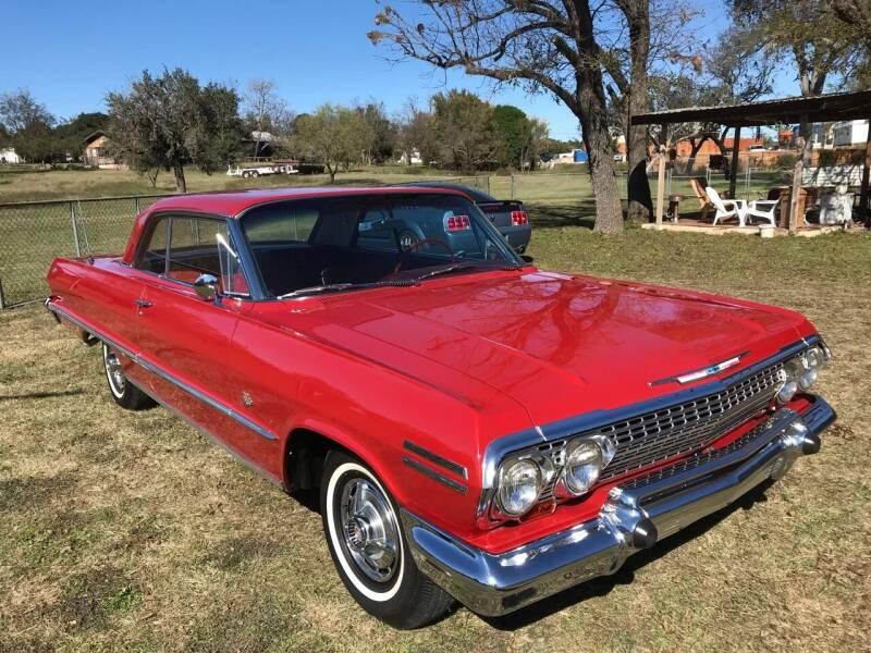 1963 Chevrolet Impala for sale at Mafia Motors in Boerne TX