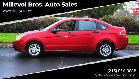 2009 Ford Focus for sale at Millevoi Bros. Auto Sales in Philadelphia PA