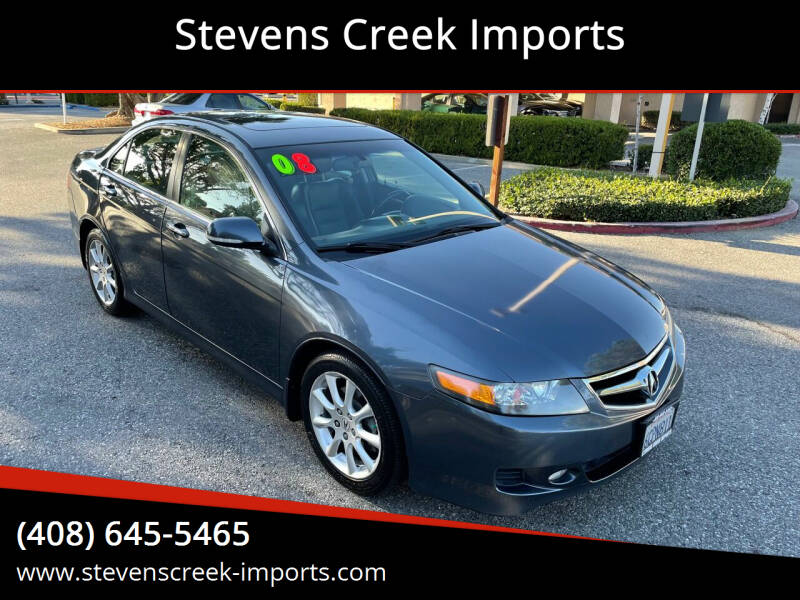 2008 Acura TSX for sale at Stevens Creek Imports in San Jose CA