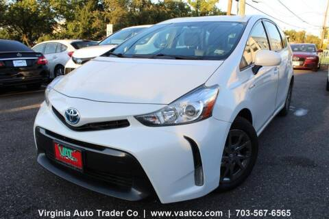 2016 Toyota Prius v for sale at Virginia Auto Trader, Co. in Arlington VA