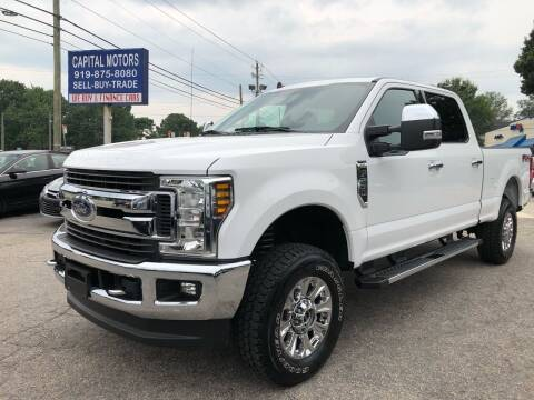 2019 Ford F-250 Super Duty for sale at Capital Motors in Raleigh NC