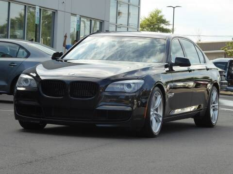 2012 BMW 7 Series for sale at Loudoun Used Cars - LOUDOUN MOTOR CARS in Chantilly VA
