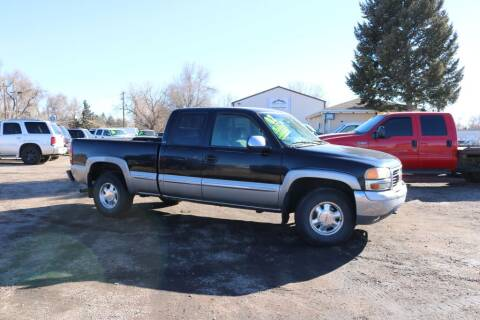 2000 GMC Sierra 1500 for sale at Northern Colorado auto sales Inc in Fort Collins CO