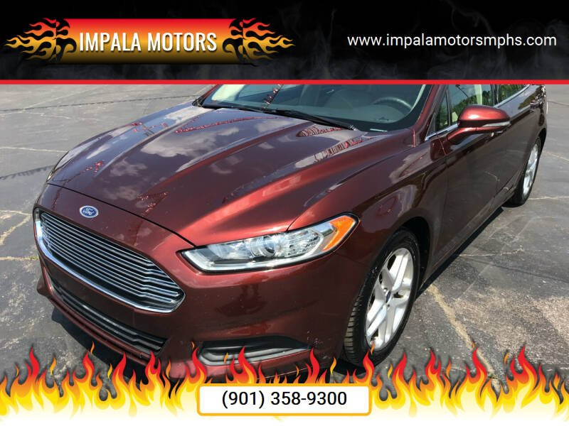 2015 Ford Fusion for sale at IMPALA MOTORS in Memphis TN