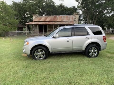 2011 Ford Escape for sale at Village Motors Of Salado in Salado TX