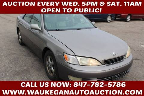 1999 Lexus ES 300 for sale at Waukegan Auto Auction in Waukegan IL