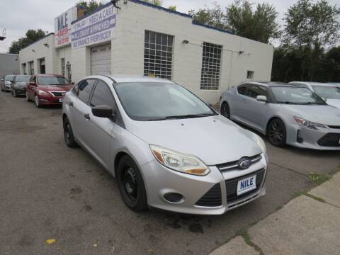 2012 Ford Focus for sale at Nile Auto Sales in Denver CO
