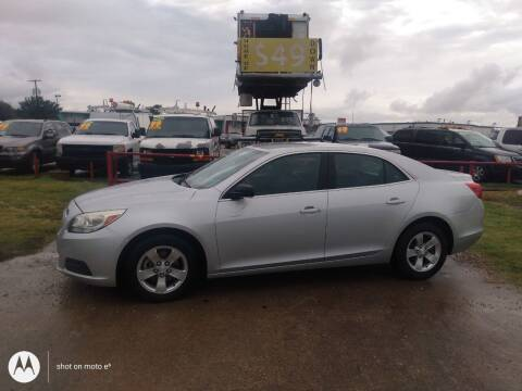 2013 Chevrolet Malibu for sale at USA Auto Sales in Dallas TX