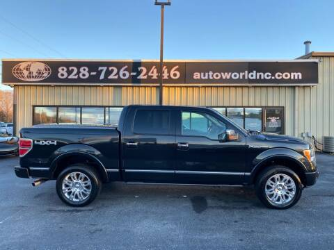 2011 Ford F-150 for sale at AutoWorld of Lenoir in Lenoir NC