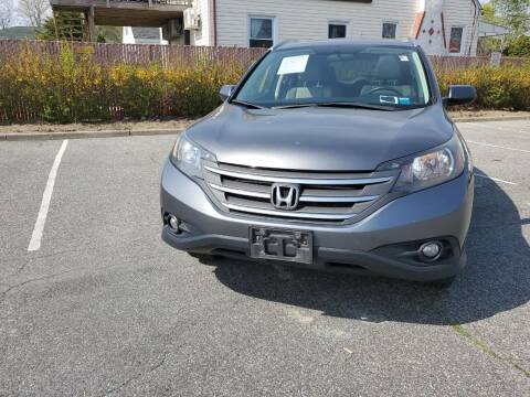 2012 Honda CR-V for sale at RMB Auto Sales Corp in Copiague NY