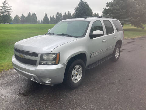 2011 Chevrolet Tahoe for sale at BELOW BOOK AUTO SALES in Idaho Falls ID