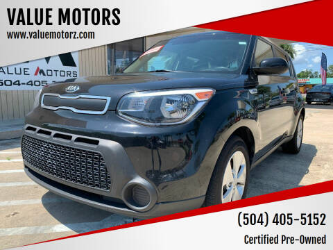 2015 Kia Soul for sale at VALUE MOTORS in Kenner LA