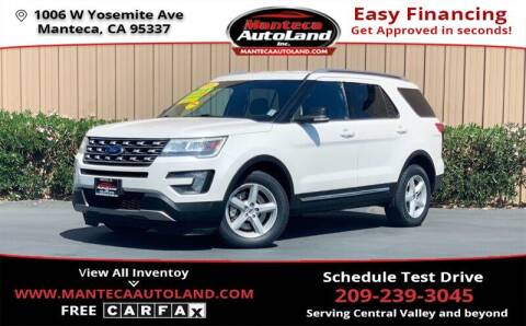 2016 Ford Explorer for sale at Manteca Auto Land in Manteca CA