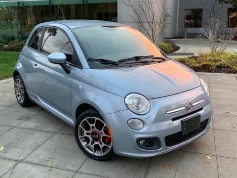 2013 FIAT 500 for sale at Top Motors in San Jose CA