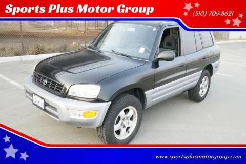 1998 Toyota RAV4 for sale at Sports Plus Motor Group LLC in Sunnyvale CA
