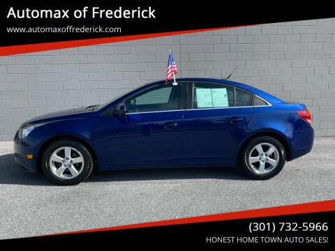 2013 Chevrolet Cruze for sale at Automax of Frederick in Frederick MD