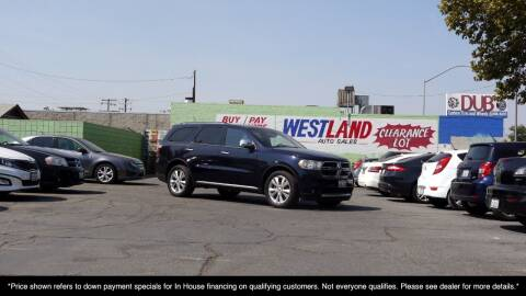 2011 Dodge Durango for sale at Westland Auto Sales on 7th in Fresno CA
