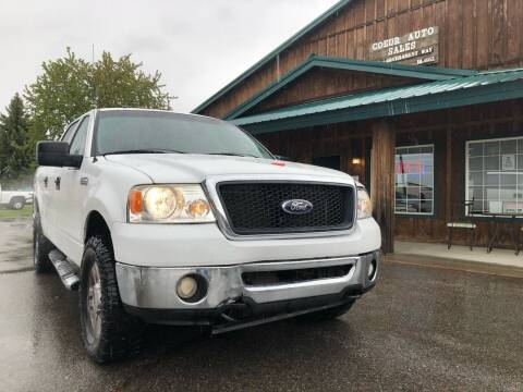 2008 Ford F-150 for sale at Coeur Auto Sales in Hayden ID