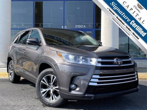 2017 Toyota Highlander for sale at Capital Cadillac of Atlanta in Smyrna GA