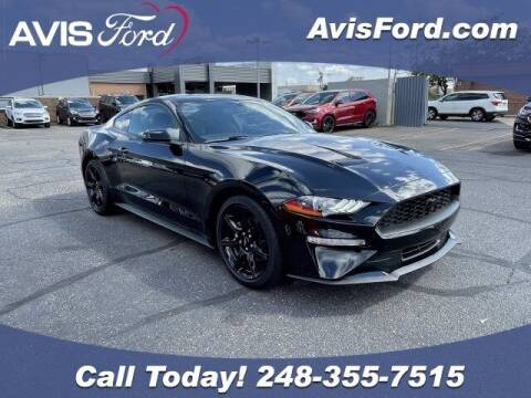 2019 Ford Mustang for sale at Work With Me Dave in Southfield MI