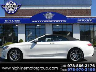 2017 Mercedes-Benz S-Class for sale at Highline Group Motorsports in Lowell MA