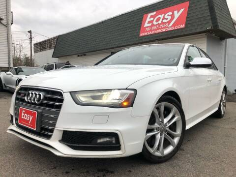 2013 Audi S4 for sale at Easy Autoworks & Sales in Whitman MA