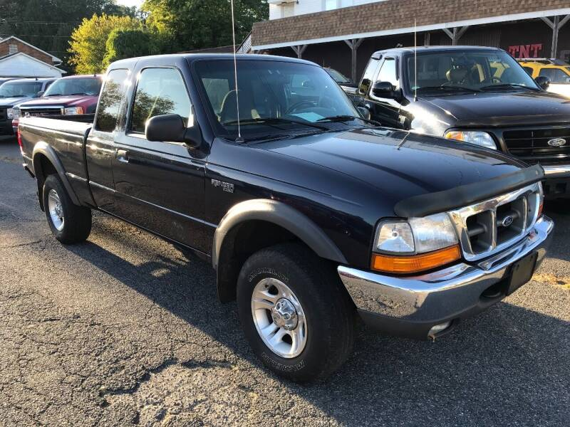 2000 Ford Ranger for sale at TNT Auto Sales in Bangor PA