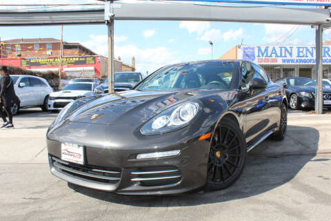 2016 Porsche Panamera for sale at MIKEY AUTO INC in Hollis NY