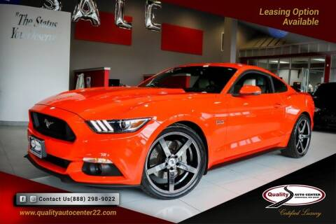 2015 Ford Mustang for sale at Quality Auto Center in Springfield NJ