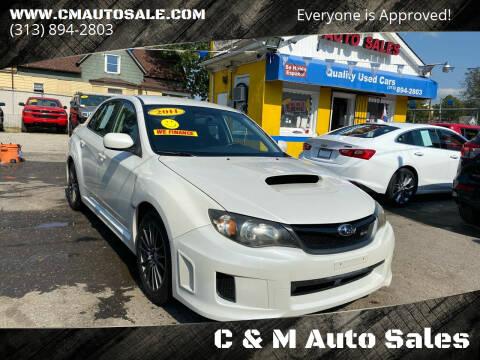 2011 Subaru Impreza for sale at C & M Auto Sales in Detroit MI