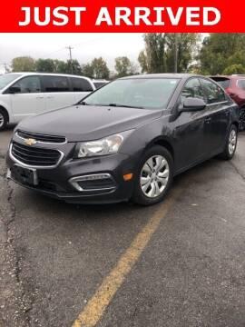 2015 Chevrolet Cruze for sale at Monster Motors in Michigan Center MI