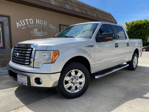 2012 Ford F-150 for sale at Auto Hub, Inc. in Anaheim CA