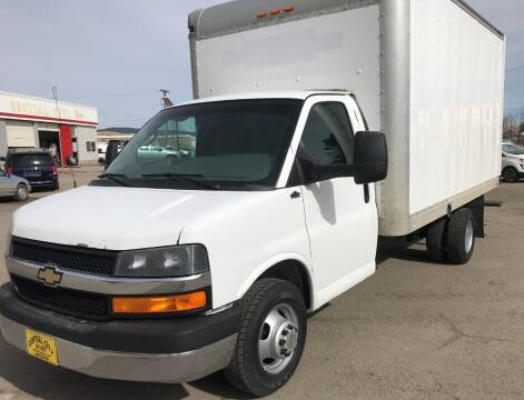 2014 Chevrolet Express Cutaway for sale at Central City Auto West in Lewistown MT