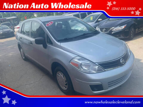 2011 Nissan Versa for sale at Nation Auto Wholesale in Cleveland OH