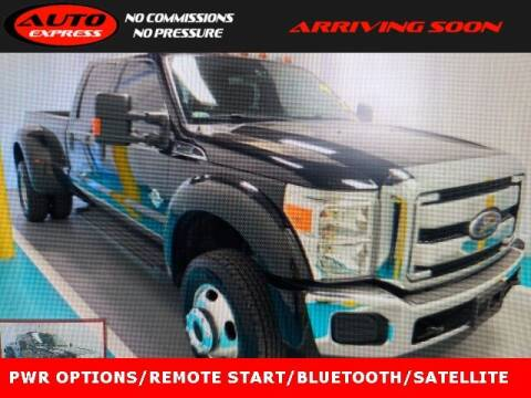 2013 Ford F-450 Super Duty for sale at Auto Express in Lafayette IN