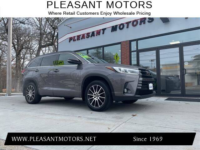 2017 Toyota Highlander for sale at Pleasant Motors in New Bedford MA