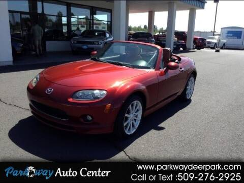 2008 Mazda MX-5 Miata for sale at PARKWAY AUTO CENTER AND RV in Deer Park WA