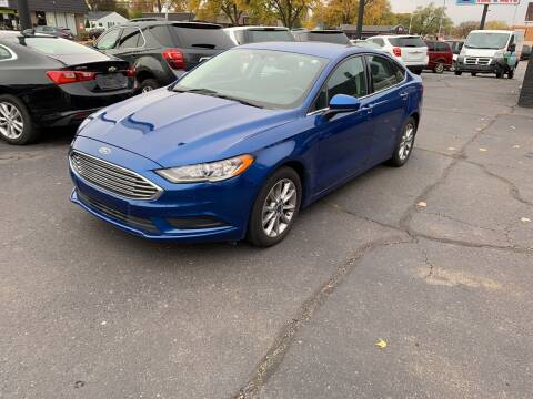 2017 Ford Fusion for sale at Car Now LLC in Madison Heights MI