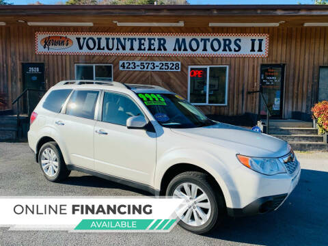 2012 Subaru Forester for sale at Kerwin's Volunteer Motors in Bristol TN