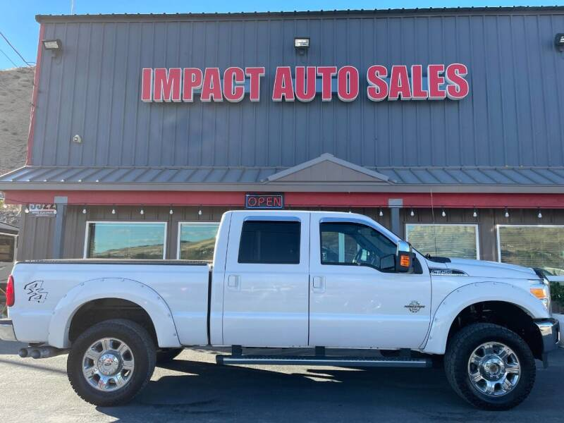 2012 Ford F-350 Super Duty for sale at Impact Auto Sales in Wenatchee WA