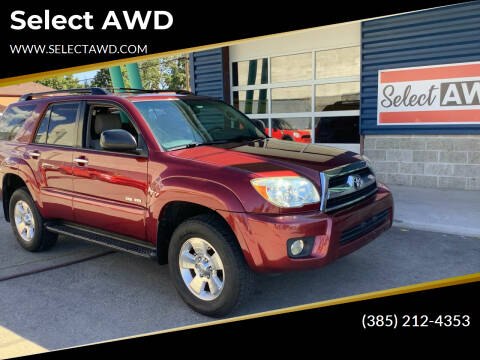 2008 Toyota 4Runner for sale at Select AWD in Provo UT