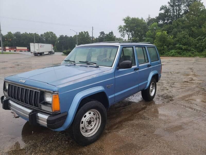 1990 Jeep Cherokee for sale at Mc Calls Auto Sales in Brewton AL